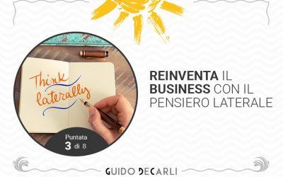 Reinventare il business: ci aiuta il pensiero laterale