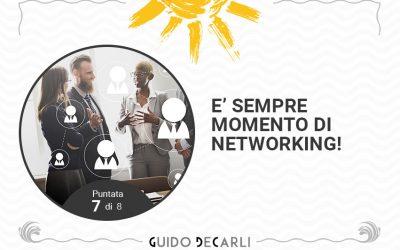 E' sempre momento di networking!