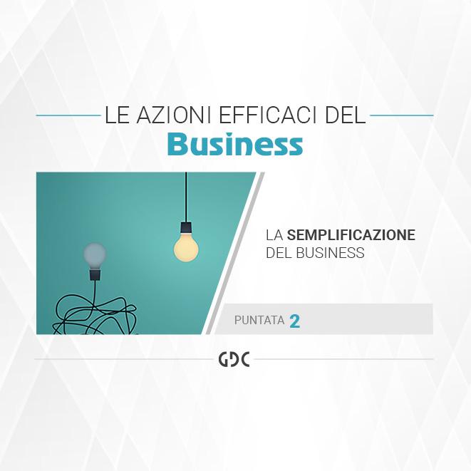 La semplificazione del business