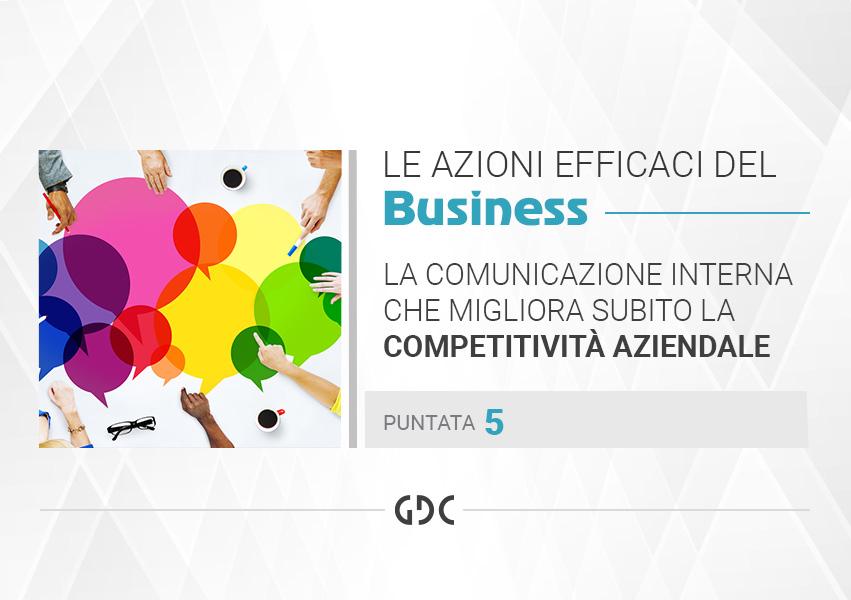 La Comunicazione interna che migliora subito la competitività aziendale