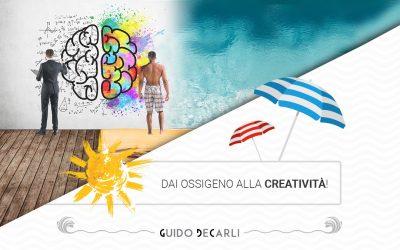 Sotto l'ombrellone non siete improduttivi: state dando ossigeno alla creatività